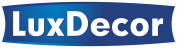 LuxDecor – produkty do ochrony, dekoracji i konserwacji drewna Logo