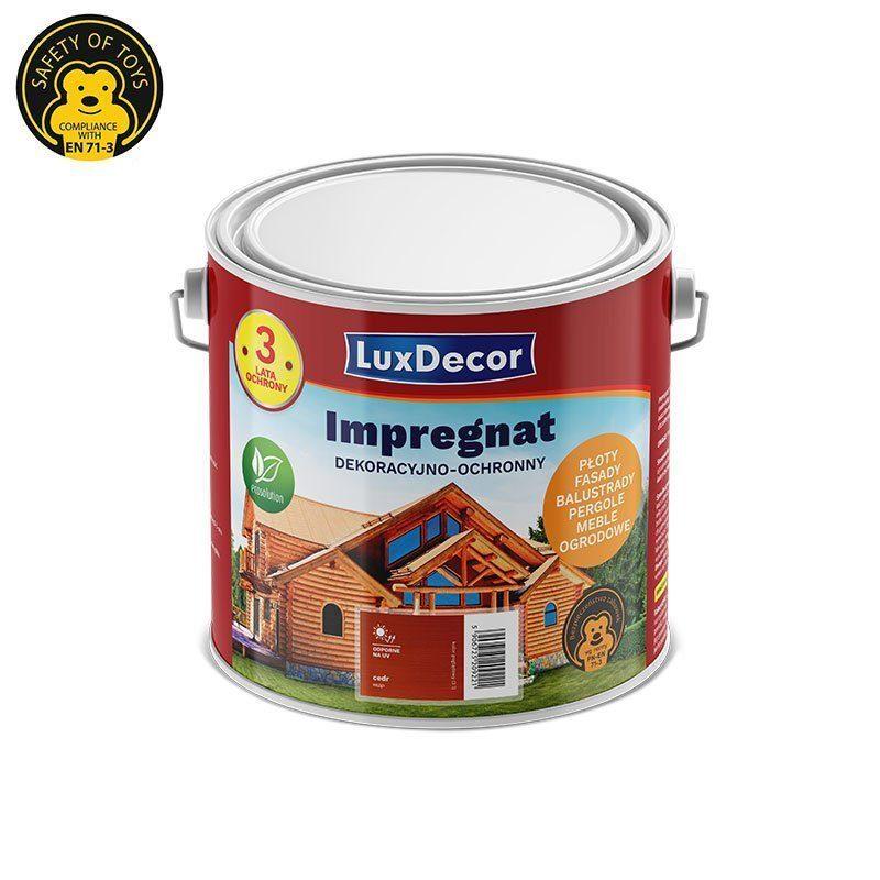 Impregnat Do Drewna Luxdecor Produkty Do Ochrony