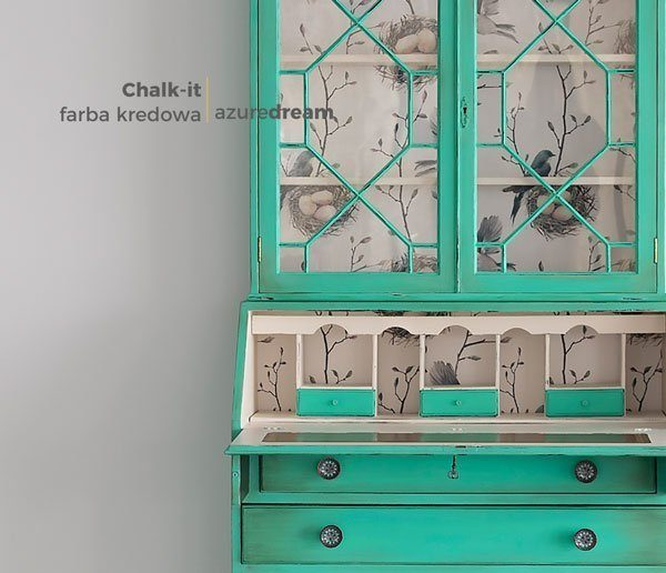 sekretarzyk-zielony-azuredream-farby-kredowe-chalk-it
