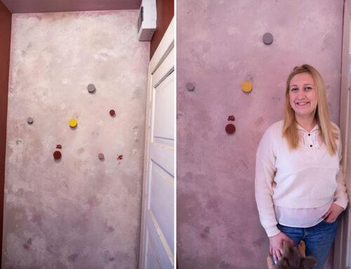Efektowne DIY. Jak wykonać ścianę wabi sabi?
